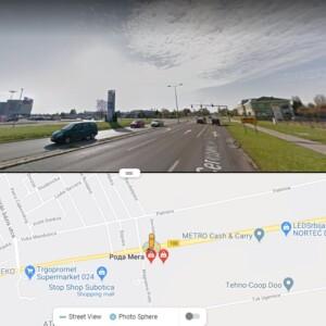 Subotica, periferija, OUTDOOR led bilbordi