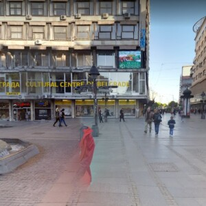 Beograd, epi centar, OUTDOOR led bilbordi