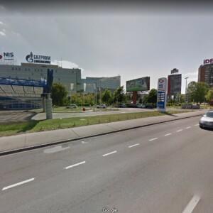 Beograd-Novi Beograd, TC Ušće - OUTDOOR megaboard